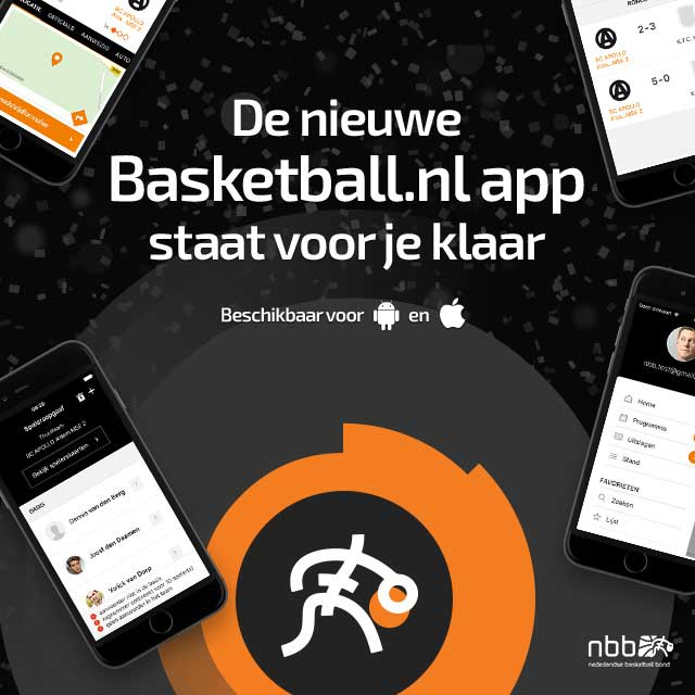 Basketball.nl app